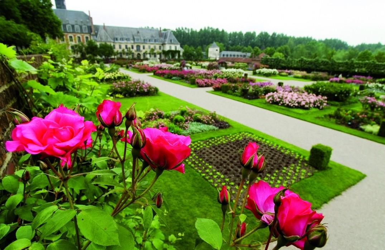 jardins_de_valloires_rose_argoules_somme_picardie © baie attitiude