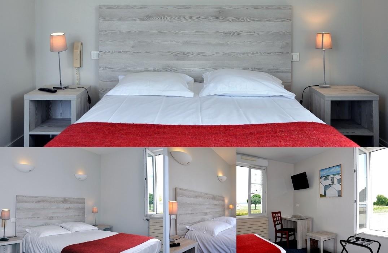 Hôtel du port et des bains_chambre_St Valeru sur Somme_Somme_Picardie_HautsdeFrance