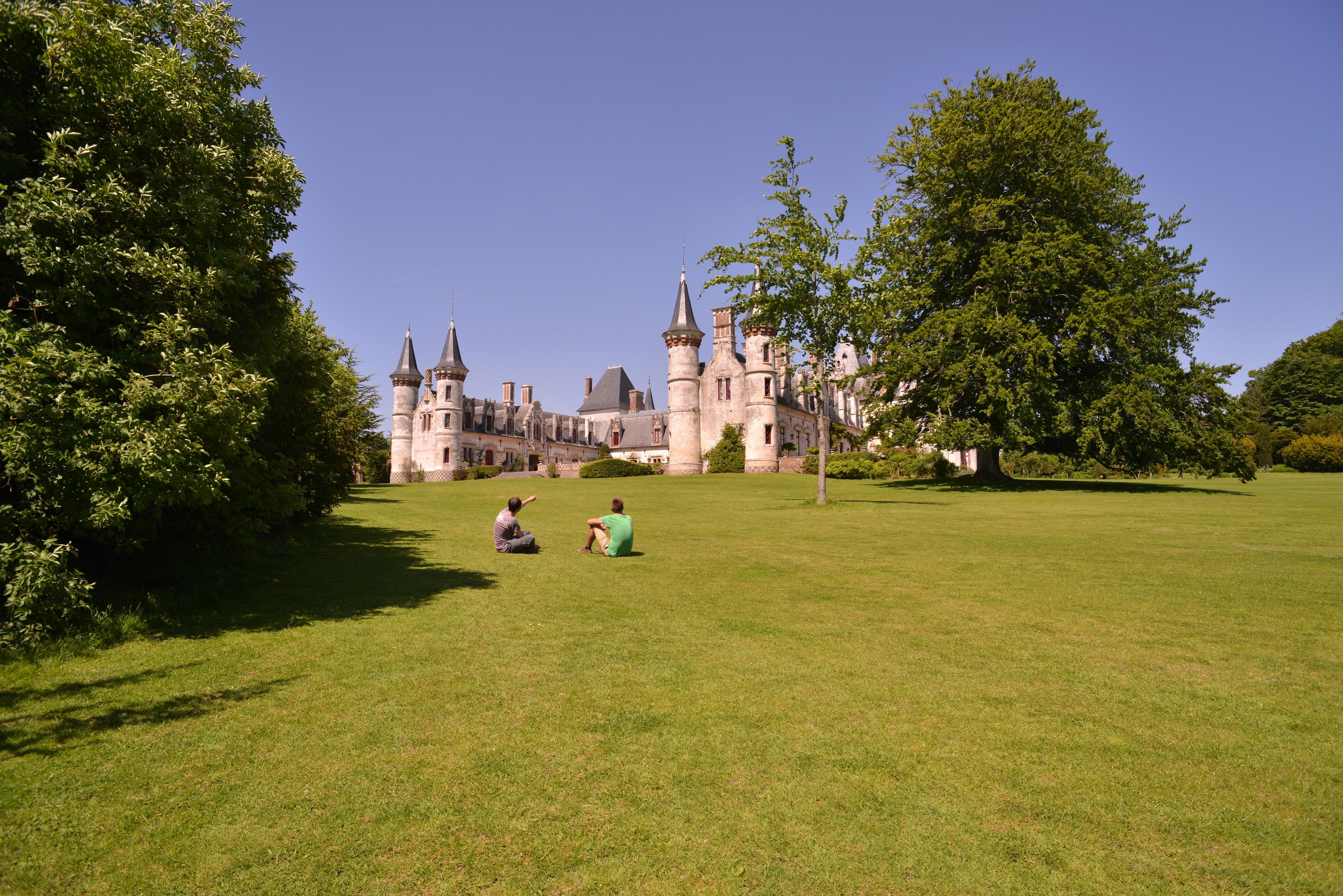 Parc Château de Regneres Ecluses_CRT Picardie-NBryant