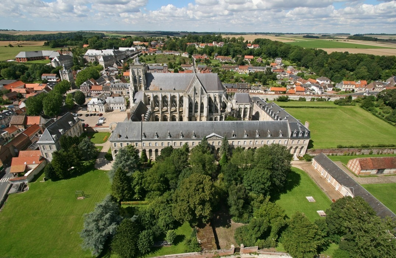 abbaye royale_saint-riquier_somme_picardie
