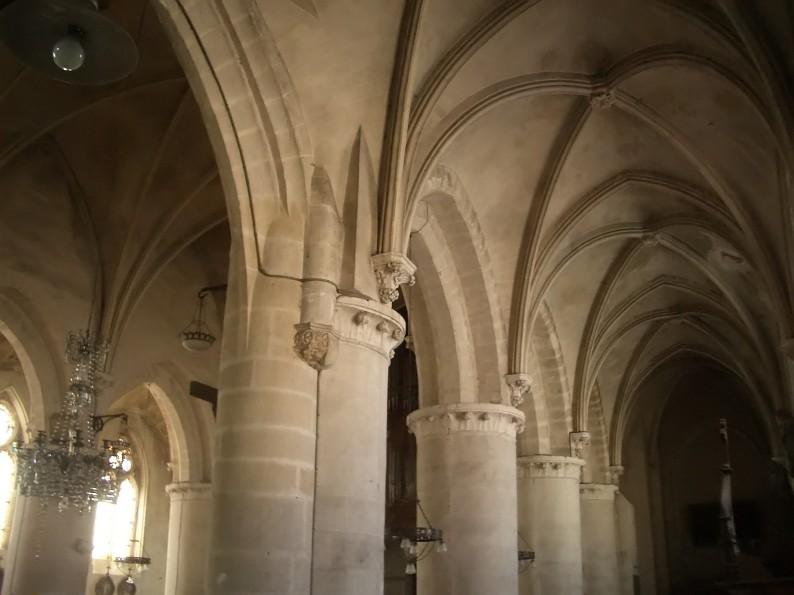 intérieur Eglise Saint-Pierre d'Ault